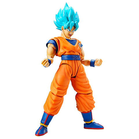 Figura Super Saiyan God Super Saiyan Son Goku Modelo Kit Dragon Ball Z 14cm