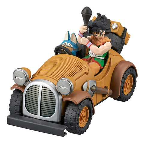Figura Yamcha Mighty Mouse Modelo Kit Dragon Ball Coleção Mecha 8cm