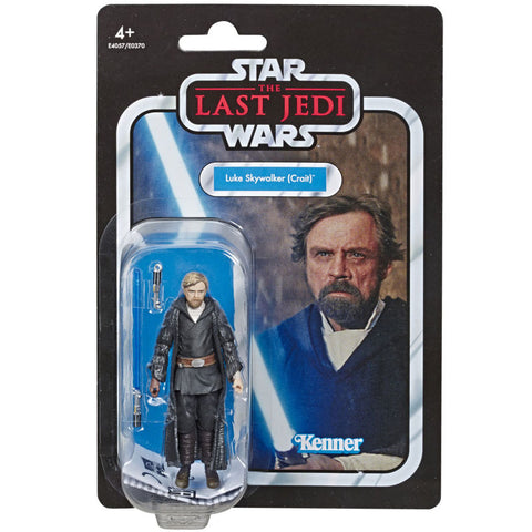 Figura vintage Luke Skywalker Star Wars The Last Jedi