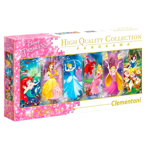 Puzzle Panorama Princesas Disney 1000pcs