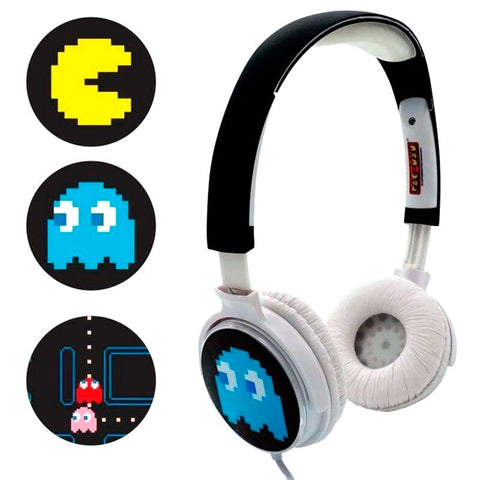 Auriculares personalizáveis Pac Man