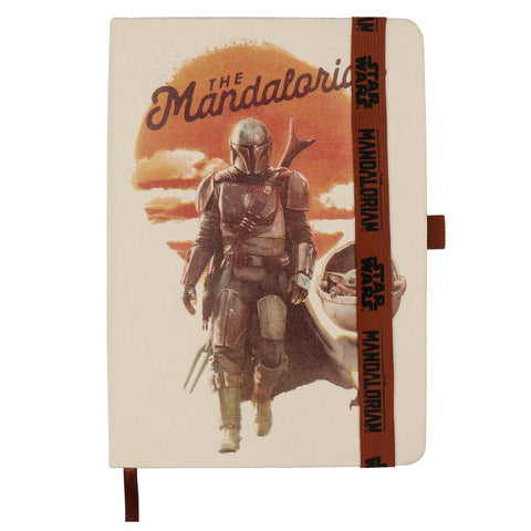 Caderno A5 The Mandalorian Star Wars