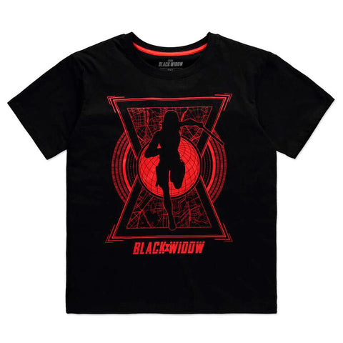 T-Shirt Senhora World Saviour Black Widow Marvel