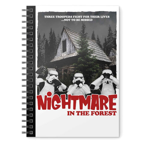 Caderno A5 Nightmare in the Forest Original Stormtrooper