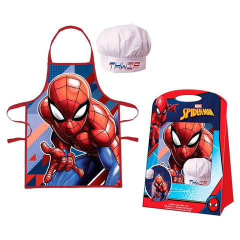 Set Avental Spiderman Marvel