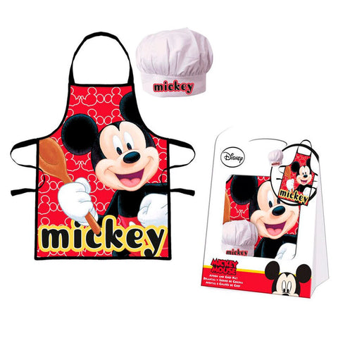 Set Avental Mickey Disney