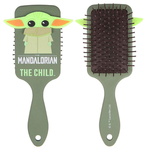 Escova Cabelo Yoda Child The Mandalorian Star Wars