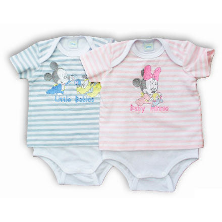 Body Minnie Mickey Disney Babies sortido