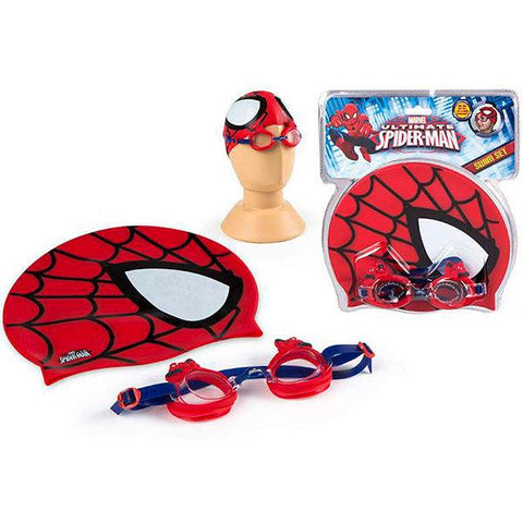 Conjunto de Natação Spiderman Marvel Ultimate
