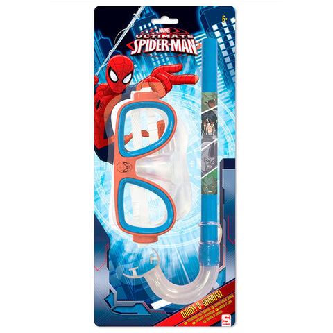 Set óculos tubo Spiderman Marvel