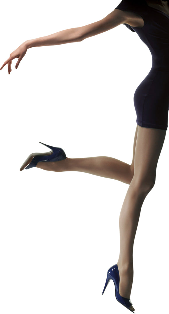 Omsa Attiva 20 light support tights, gradual compression, helps conceal cellulite, good for flights and being on your feet all day.