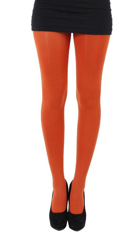 Pamela Mann 50 Denier Opaque Tights - Rust Orange