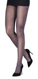 Emilio Cavallini 3 Dimensions Tights - 30 denier matte semi-sheer tights in navy