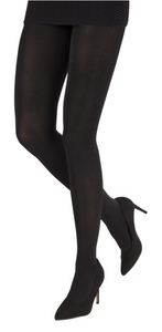 Emilio Cavallini 1258.1.10 Shiny Tights - black 200 denier ultra opaque gloss tights