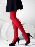 Gipsy 1172 100 Denier Opaque Tights - red ultra opaque tights