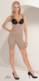 Julie France JF001 Frontless Body Shaper - boxer shaper with thick straps, perfect shape wear to smooth and lift your silhouette