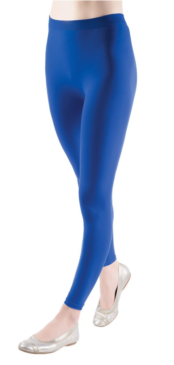 Emilio Cavallini 1385.88.2 Basic Leggings - blue stretch leggings