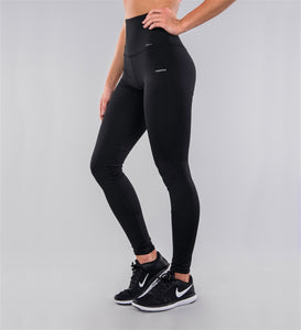 Carpatree High Waist Leggings - black high waisted sports leggings, perfect activewear