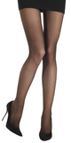Emilio Cavallini 3 Dimensions Tights - 30 denier matte semi-sheer tights in aubergine (eggplant)