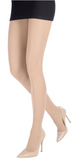 Emilio Cavallini 3 Dimensions Tights - 30 denier matte semi-sheer tights in nude