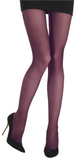 Emilio Cavallini 3 Dimensions Tights - 30 denier matte semi-sheer tights in wine tasting