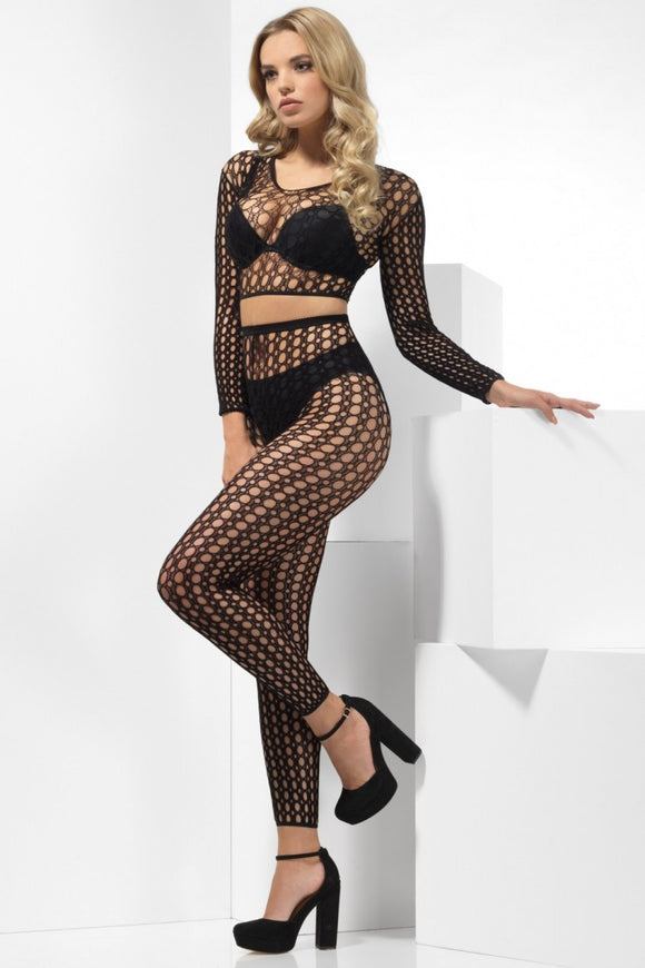 Fever Fence Fishnet Set