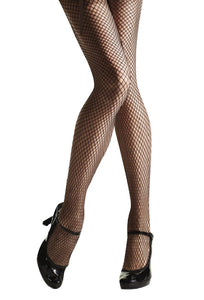 Omsa Beat Collant - classic diamond fishnet tights in black, cream and nude