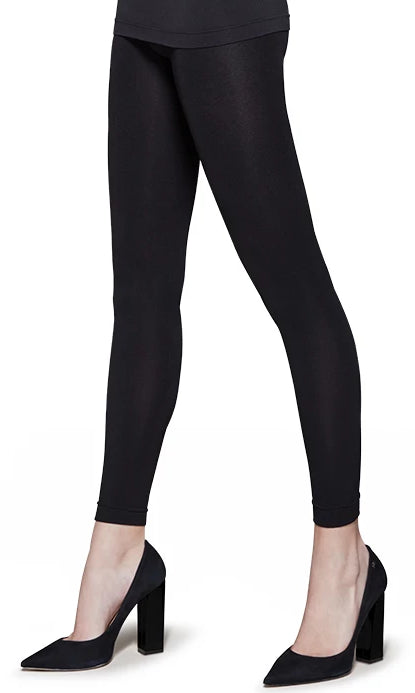 Omsa Groenland Pantacollant - fleece lined thermal footless tights