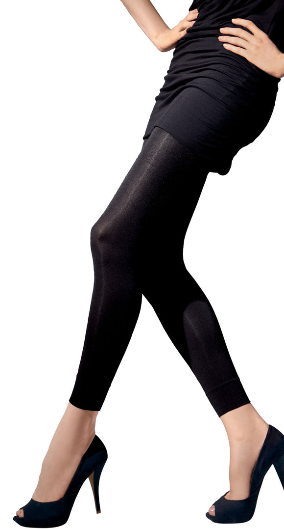 Omsa Pant 100 - 100 denier matte opaque footless tights