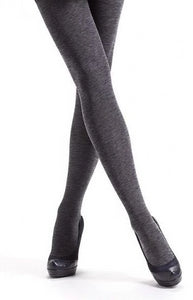 Omsa Velour Melange Tights - 50 denier soft matte opaque tights with a fleck, available in black, brown, beige and grey