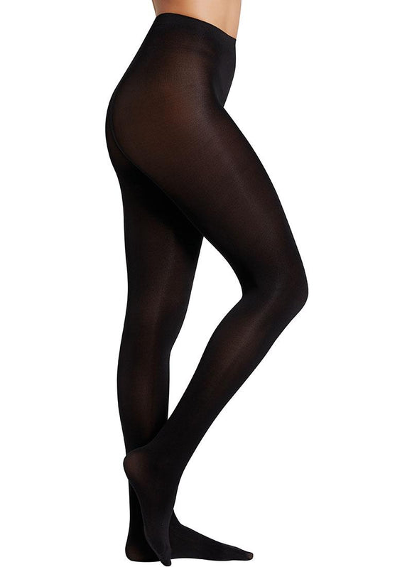 Ysabel Mora Activa 70 Panty - plain matte opaque tights in white, bottle green, maroon, navy and grey