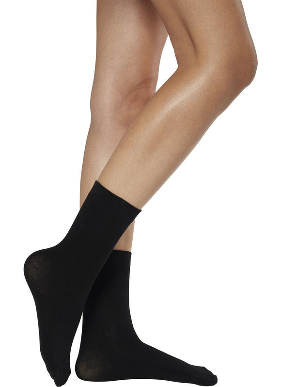 Ysabel Mora Cotton Tobillero - cotton mix ankle socks with deep elasticated cuff