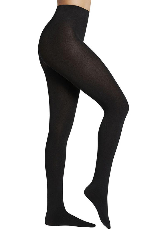 Ysabel Mora - 16841 Thermal Fleece Lined Tights in black, grey and navy