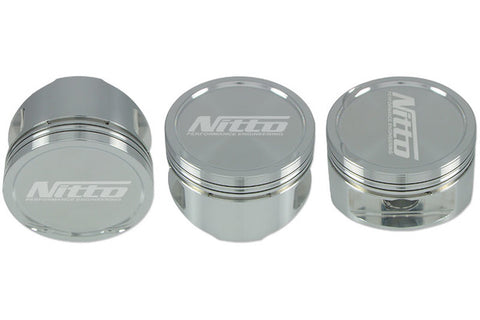 NITTO FORGED PISTON & RINGS - SUITS TOYOTA 2JZ 86.5MM BORE