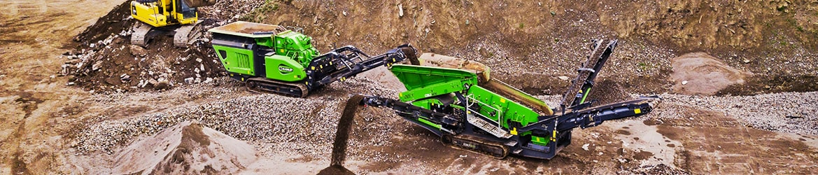 Hire crushing, screening, washing and conveyor machines - Tricon Equipment