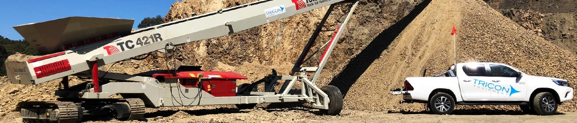 Mobile Crusher, Screener, Conveyor Servicing - Tricon Equipment