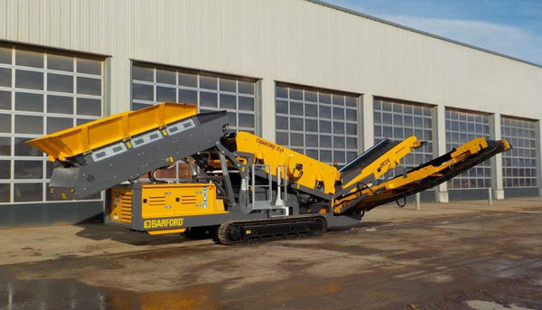 BARFORD SR124 - HEAVY DUTY 3 WAY SPLIT SCREEN