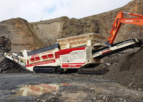 Rock Trommel Screen - MDS M412 Quarry and Mining Rock Trommel - Tricon Mining Equipment