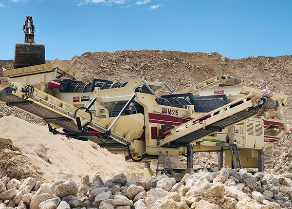 Rock Trommel Screen - MDS M515 Quarry and Mining Rock Trommel - Tricon Mining Equipment