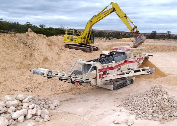 MDS M515 - HEAVY DUTY ROCK TROMMEL