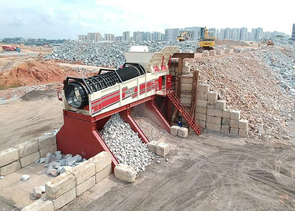 Rock Trommel - MDS M820 Quarry and Mining Rock Trommel - Tricon Mining Equipment