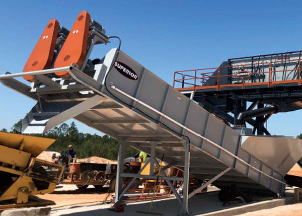 SUPERIOR AGGREDRY® DEWATERING WASHER