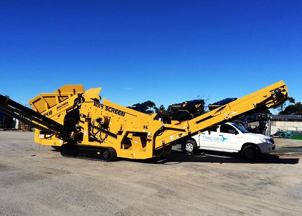 Anaconda DF410 Mobile Scalping Screener Machine - Tricon Equipment Australia