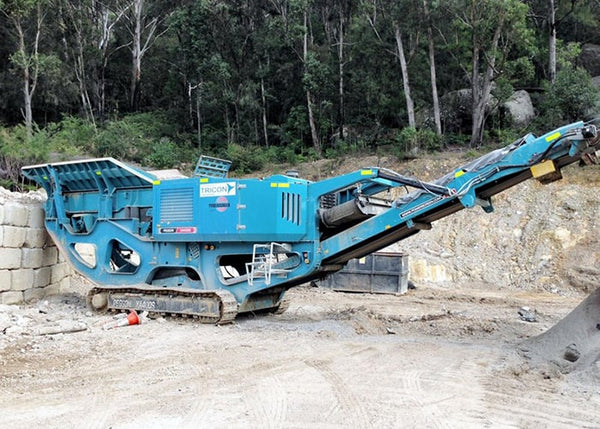 Jaw Crushing Machine - Powerscreen XA-400S Rock Crusher - Tricon Mining Equipment