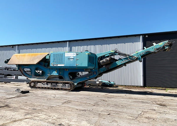 2011 POWERSCREEN XA-400S (USED) - JAW CRUSHER