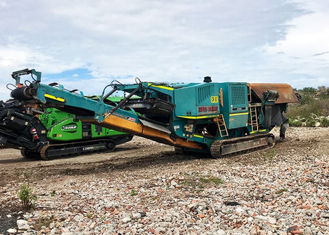 Bulk Material Crusher - Powerscreen XR-400S Rock Jaw Crusher - Tricon Mining Equipment