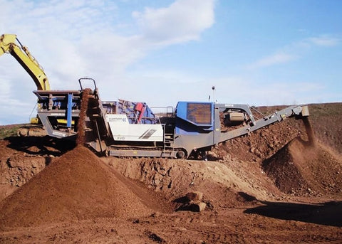 Rock Jaw Crusher - Kleemann MC110Z Jaw Crushing Machine - Tricon Australia