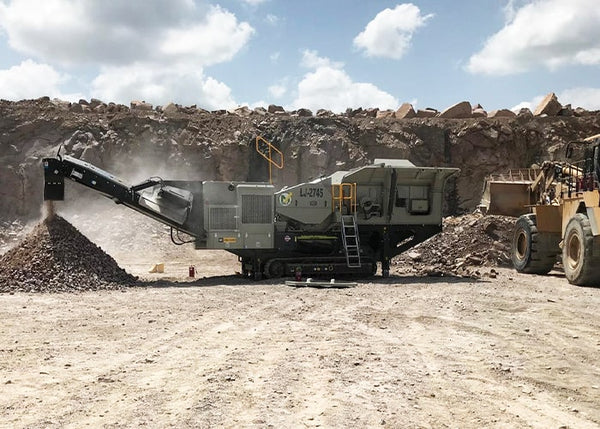 LIPPMANN LJ-2745 - JAW CRUSHER