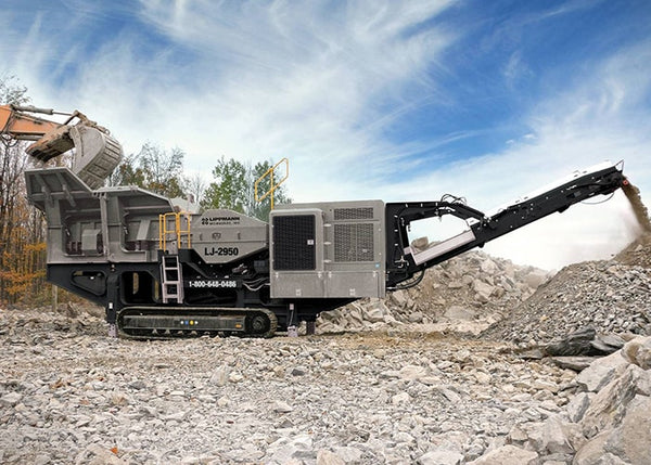 Jaw Crusher - Lippmann LJ-2950 Jaw Crushing Machine - Tricon Equipment Australia