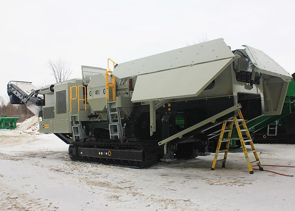 Mobile Crushing Machine - Lippmann LJ-2950 Jaw Crushing Machine - Tricon Equipment Australia